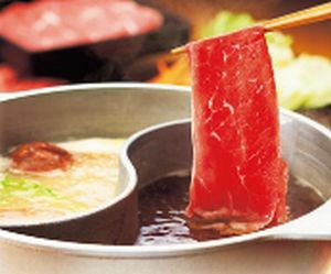 和食さとの食べ放題「さとしゃぶスタンダードコース」