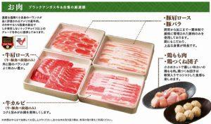食べ放題「さとすき スタンダードコース」の「お肉」メニュー